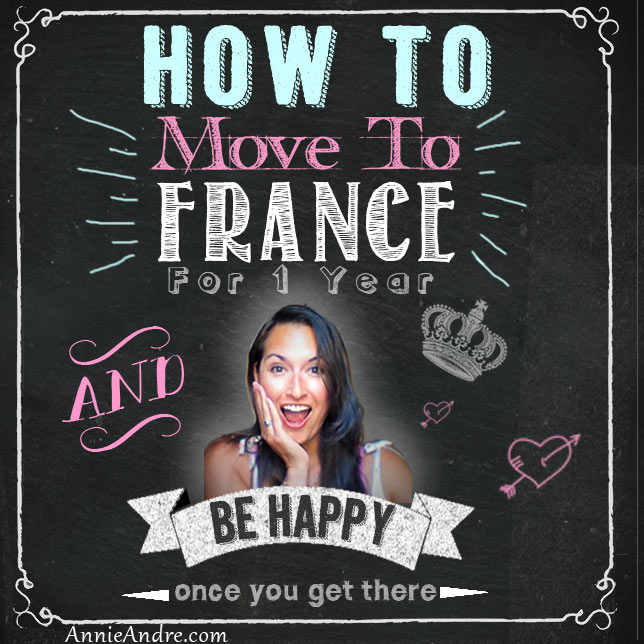 how to move to france for a yar and be happy once you get there