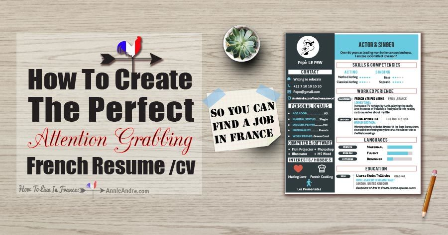want to find a job in france how to create the perfect french